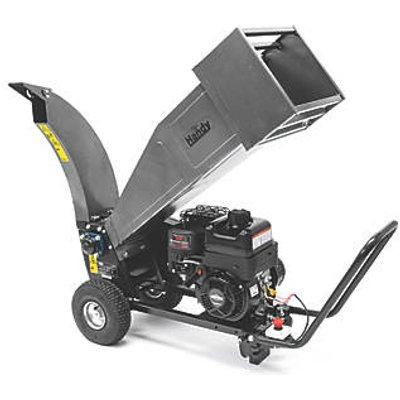 The Handy THPDS65 208cc Petrol Drum Chipper Shredder (248KT)
