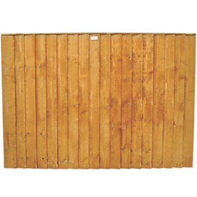 Forest Feather Edge Fence Panels 6 x 3