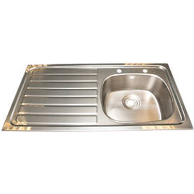 Franke Inset Kitchen Sink Stainless Steel 1 Bowl 1015 x 200mm (26825)