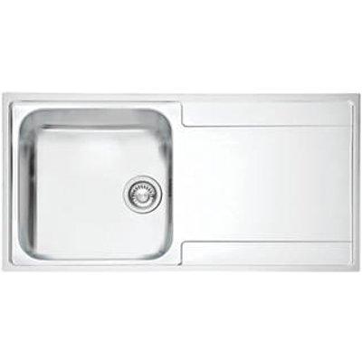 Franke Maris Slim Top Inset Kitchen Sink Stainless Steel 1 Bowl 1000 x 510mm (2843F)