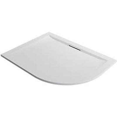 Mira Flight Level Safe Offset Quadrant Shower Tray LH White 1200 x 900 x 25mm (287PJ)
