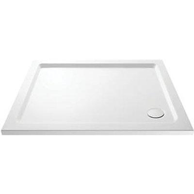 Cassellie RCT002 Rectangular Shower Tray White 900 x 800 x 40mm (292JJ)