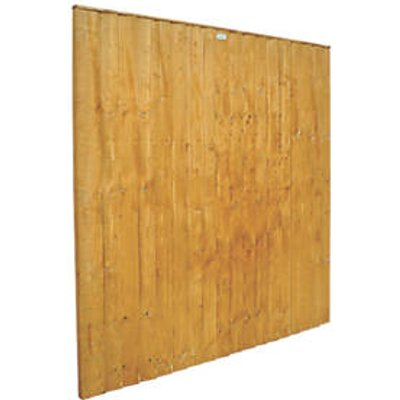 Forest Feather Edge Fence Panels 6 x 6