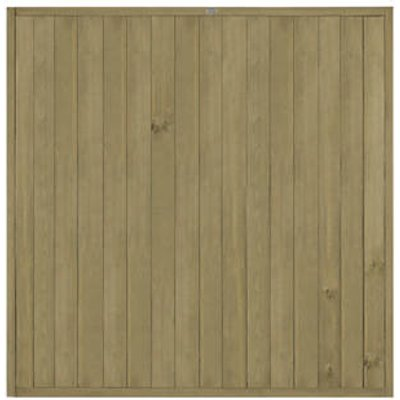 Forest VTGP6PK4HD Vertical Tongue & Groove Fence Panel 6 x 6