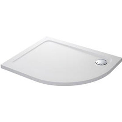 Mira Flight Safe Offset Quadrant Shower Tray LH White 1000 x 800 x 40mm (3093X)