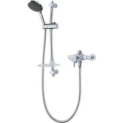 Triton Asana Rear-Fed Exposed Chrome Thermostatic Mixer Shower (3130F)