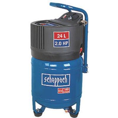 Scheppach HC24V 24Ltr Electric Vertical Air Compressor 240V (3208R)