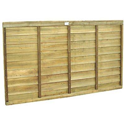 Forest Super Lap Fence Panels 6 x 4