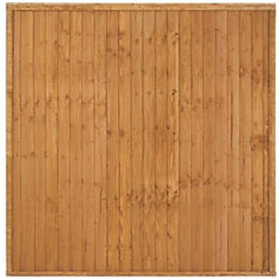 Forest Closeboard Fence Panels 6 x 6