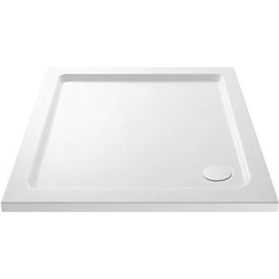Cassellie SQT002 Square Shower Tray White 760 x 760 x 40mm (333JJ)