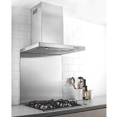 Hafele Stainless Steel Catering Grade Splashback 900 x 750 x 8mm (33517)