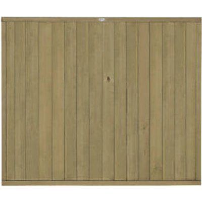 Forest VTGP5PK5HD Vertical Tongue & Groove Fence Panel 6 x 5