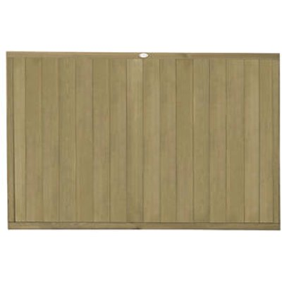 Forest VTGP4PK3HD Vertical Tongue & Groove Fence Panel 6 x 4