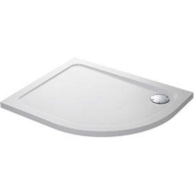 Mira Flight Low Offset Quadrant Shower Tray LH White 1200 x 900 x 40mm (3454X)