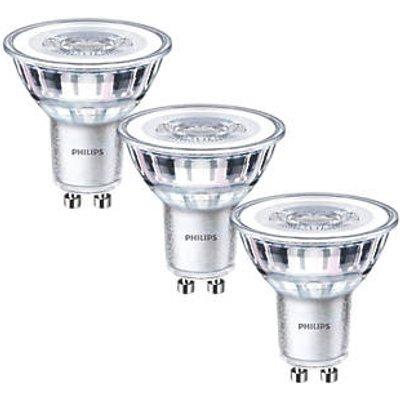 Philips GU10 LED Light Bulb 275lm 3.5W 3 Pack (3519P)