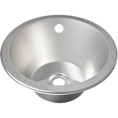 Franke Round Inset Sink Stainless Steel 1 Bowl 355 x 305mm (36817)