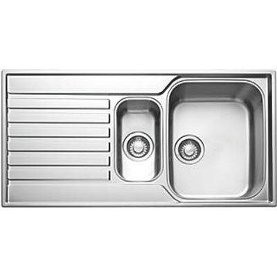Franke Ascona Inset Sink Stainless Steel 1.5 Bowl 1000 x 510mm (37197)