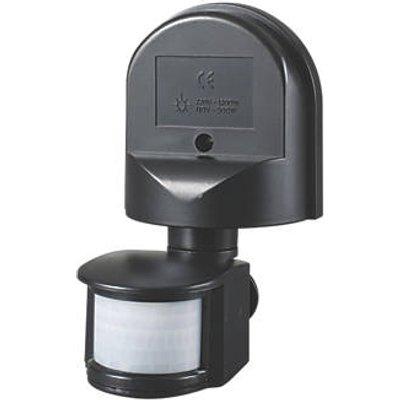 Zinc DION Outdoor Black PIR Sensor 180� (388FT)