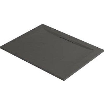 Mira Flight Level Rectangular Shower Tray Slate Grey 1000 x 800 x 25mm (389HR)