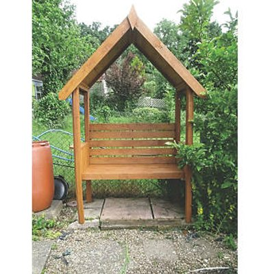 Shire Blossom Arbour Pale Green Wash 1230 x 650 x 2160mm (4000X)