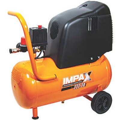 IMPAX OM227-24 CM2 PROE3625 24Ltr Electric Air Compressor 230V (4070V)