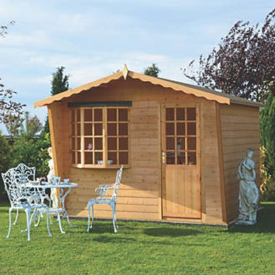Shire Goodwood Summerhouse Assembly Included 2.99 x 2.99m (40936)