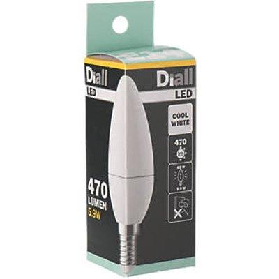 SES Candle LED Light Bulb 470lm 4.7W (4144P)