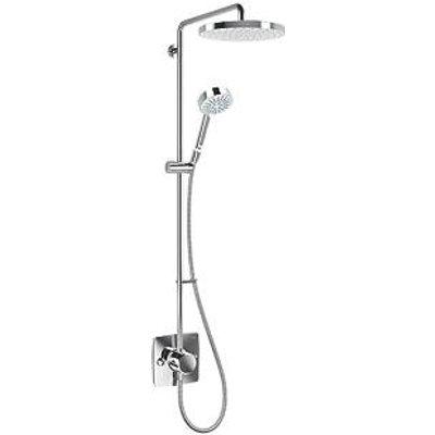 Mira Beacon Rear-Fed Exposed Chrome Thermostatic Mixer Shower (418KJ)