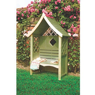 Shire Rose Arbour Green 1236 x 654 x 2235mm (42324)