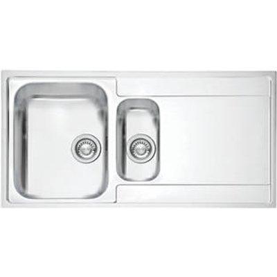 Franke Maris Slim Top Inset Kitchen Sink Stainless Steel 1.5 Bowl 1000 x 510mm (4276F)