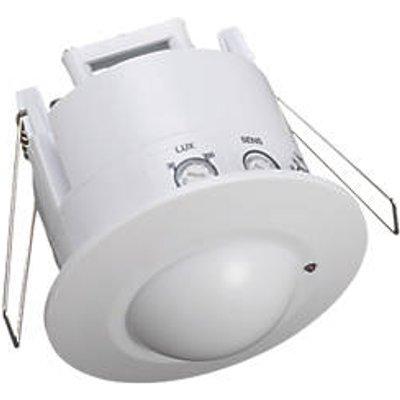 Zinc THEA Indoor White Microwave Recessed Sensor 360� (4277R)