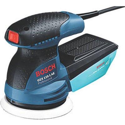 Bosch GEX 125-1AE 125mm  Electric Random Orbit Sander 230V (4313R)