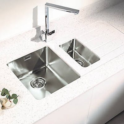 Metis  Ice Sink Module with 1.5 Bowl Stainless Steel Sink 3050 x 620 x 15mm (432PH)