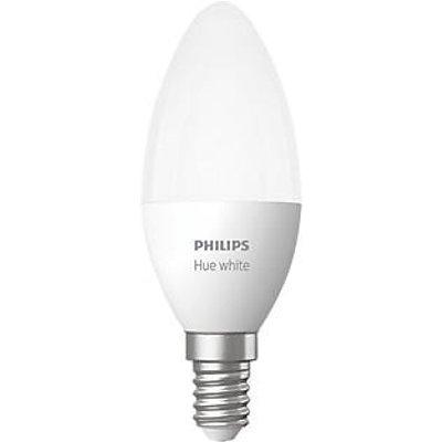 Philips Hue Bluetooth LED Candle ES Smart Light Bulb Warm White 40W 470Lm (441KJ)