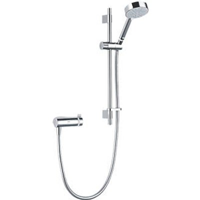 Mira Agile EV+ Rear-Fed Exposed Chrome Thermostatic Mixer Shower (445HX)