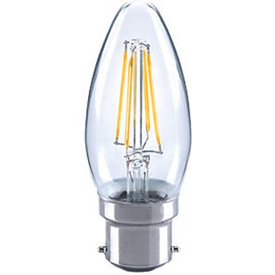 LAP BC Candle LED Virtual Filament Light Bulb 470lm 4.5W (4551V)