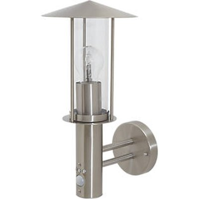LAP CHIGNIK Outdoor Wall Light With PIR Sensor Stainless Steel (4566X)
