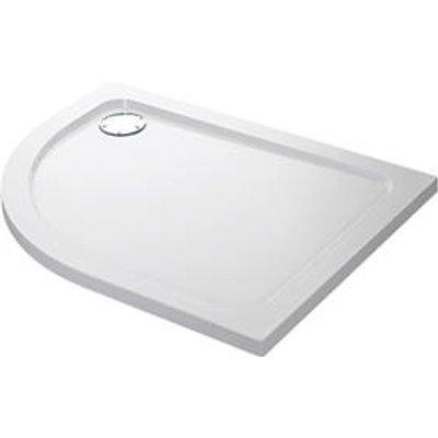 Mira Flight Low Offset Quadrant Shower Tray RH White 1000 x 800 x 40mm (4612X)