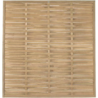 Forest WFP18PK4HD Woven Fence Panel 6 x 6