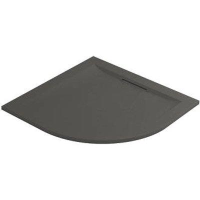 Mira Flight Level Quadrant Shower Tray Slate Grey 1000 x 1000 x 25mm (474PJ)