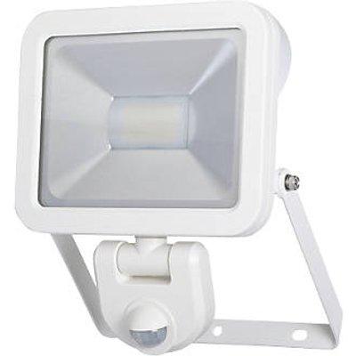 LAP Weyburn Outdoor LED Floodlight With PIR Sensor White 20W 1600lm (475FY)