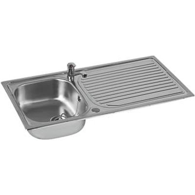 Astracast Aegean Stainless Steel Inset Sink & Tap 1 Bowl 965 x 500mm (476HX)