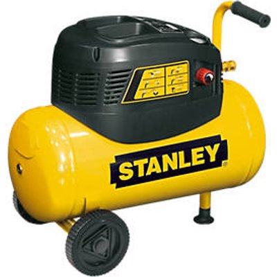 Stanley 8216035SCR011 24Ltr Electric Compressor with 5 Piece Accessory Kit 240V (48089)