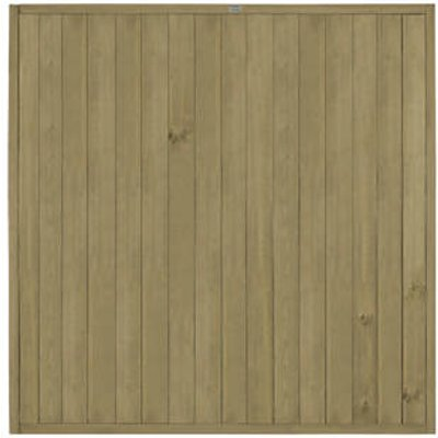 Forest VTGP6PK3HD Vertical Tongue & Groove Fence Panel 6 x 6