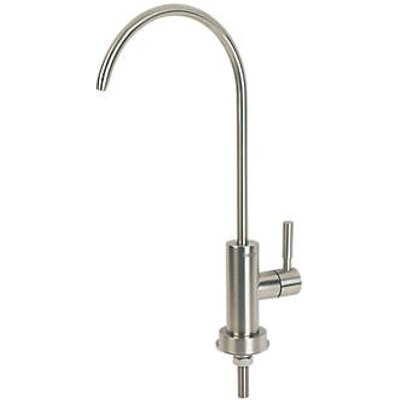 BWT Deluxe Faucet Surface-Mounted Drinking Water Tap Satin Stainless Steel (484HY)