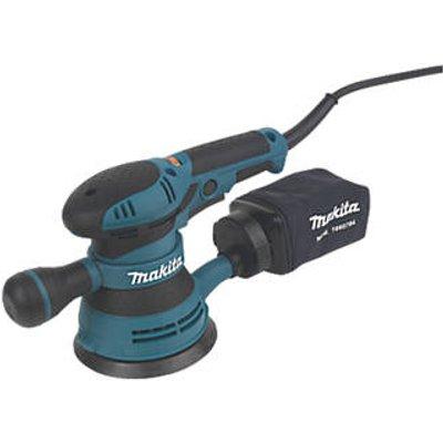 Makita BO5041/2 125mm  Electric Random Orbit Sander 240V (48638)