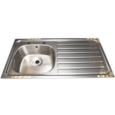 Franke Inset Kitchen Sink Stainless Steel 1 Bowl 1015 x 200mm (49964)