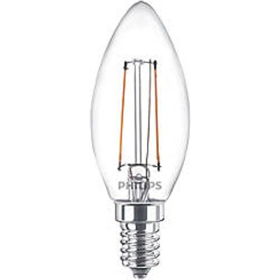 Philips SES Candle LED Virtual Filament Light Bulb 470lm 5W (5010V)