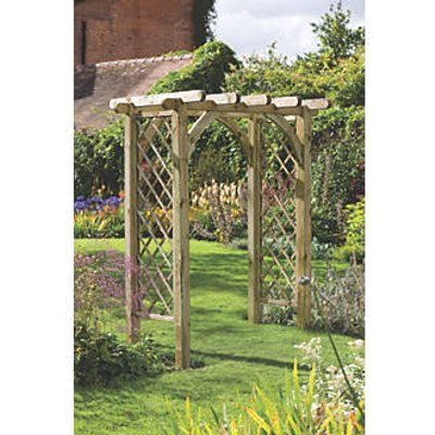 Forest Ultima Pergola Arch Natural Timber 1820 x 1360 x 2450mm (50997)