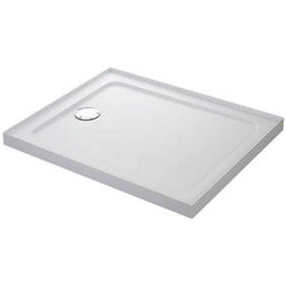 Mira Flight Safe Rectangular Shower Tray with 4 Upstands White 1200 x 760 x 40mm (5137X)